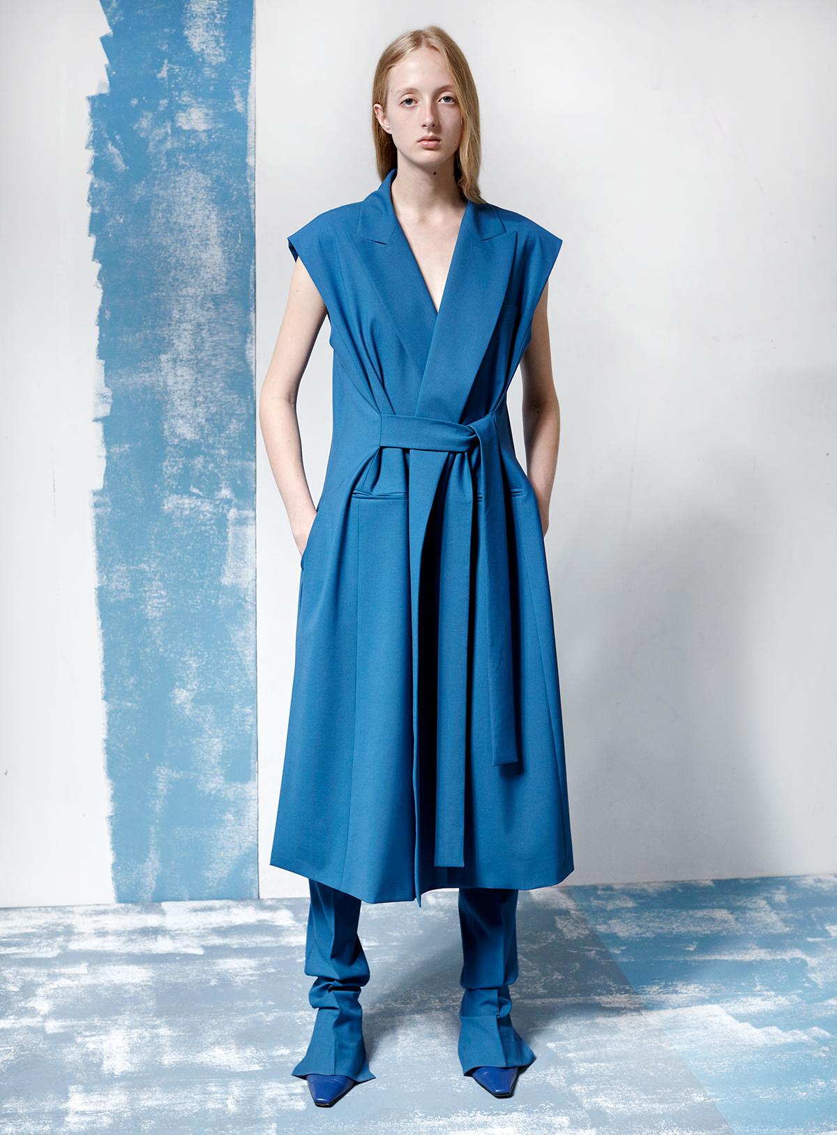 look-18 Vest PELINE Trousers PALOMA
