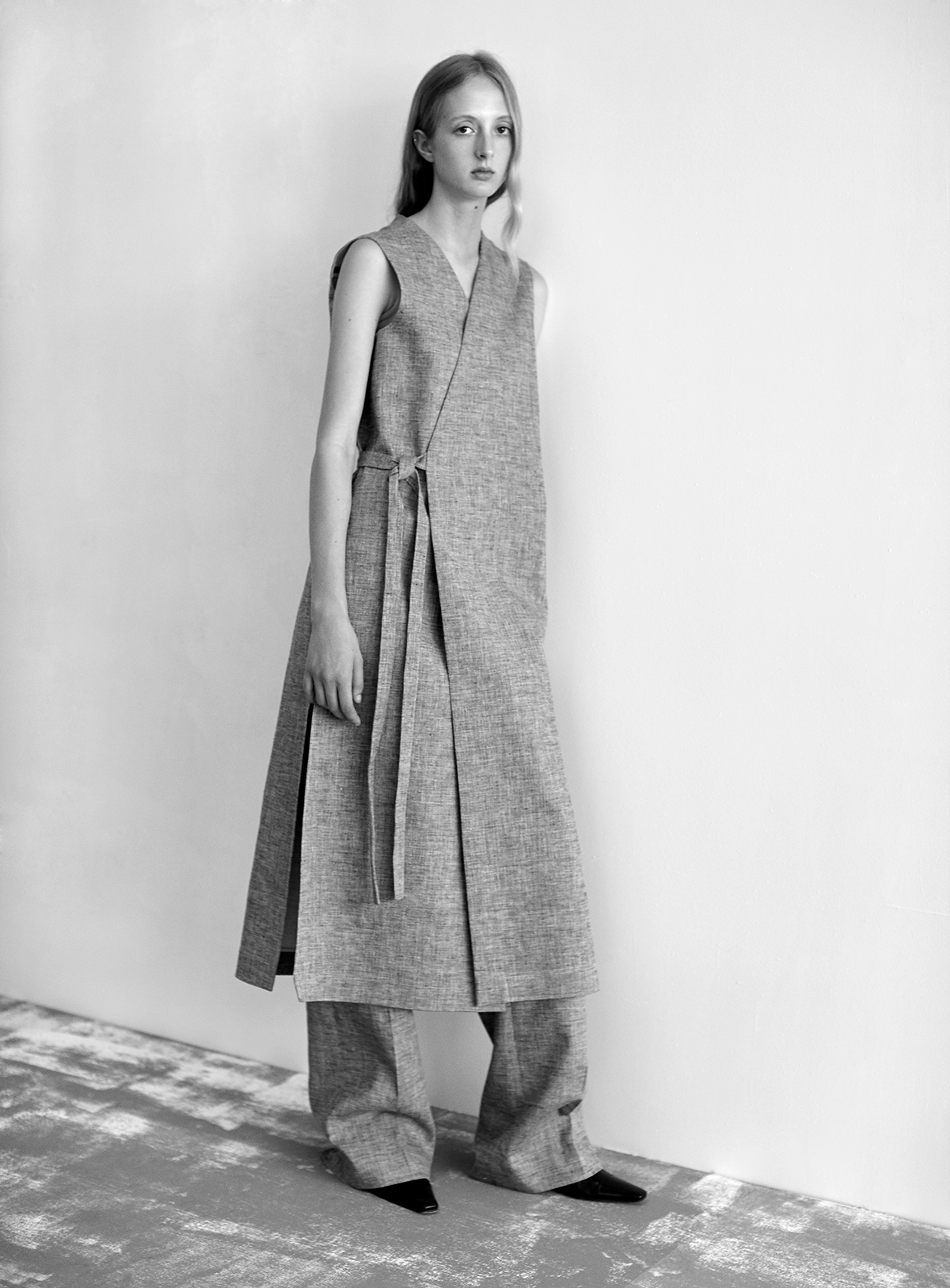 look-20 Dress PENELOPE Trousers PRISCO