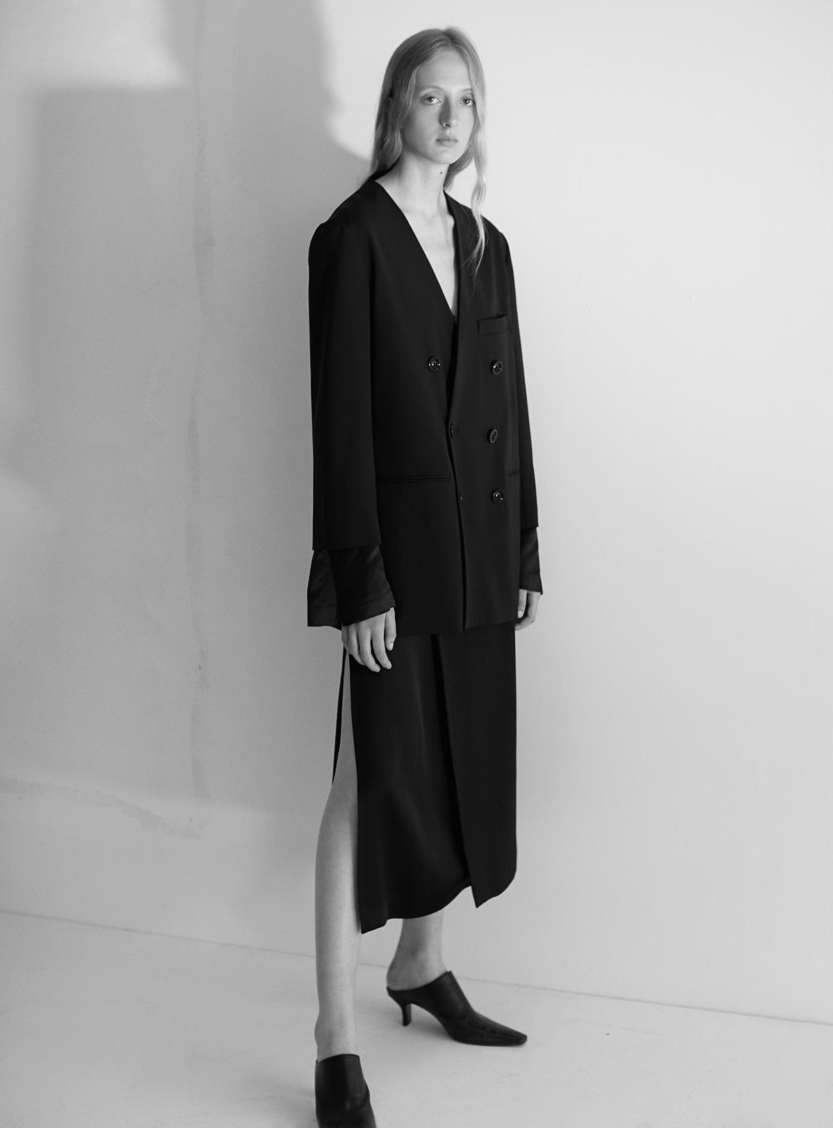 look-23 Blazer POMELINE Skirt POLLY