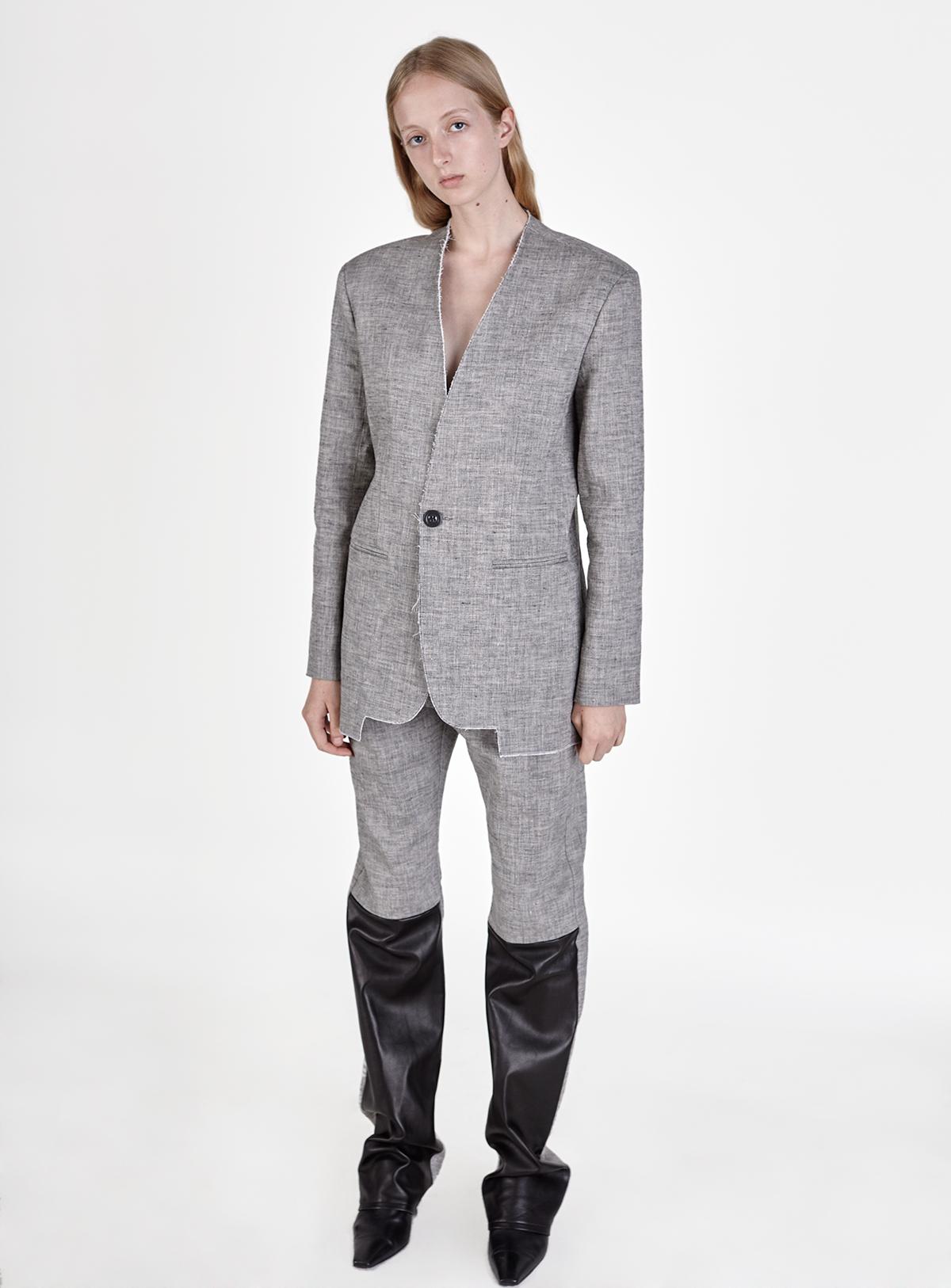 look-4 Blazer PERLE Trousers PARYS