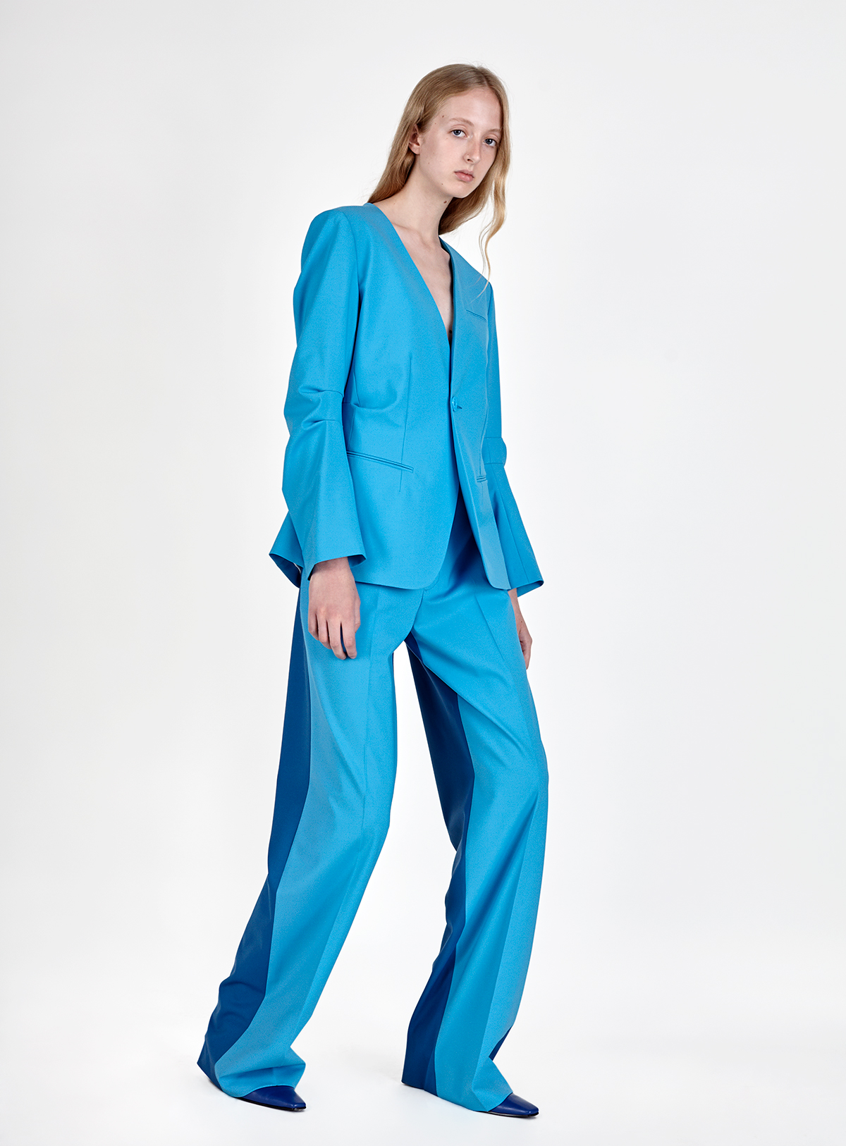 look-5 Blazer PAIGE Trousers PRISCO