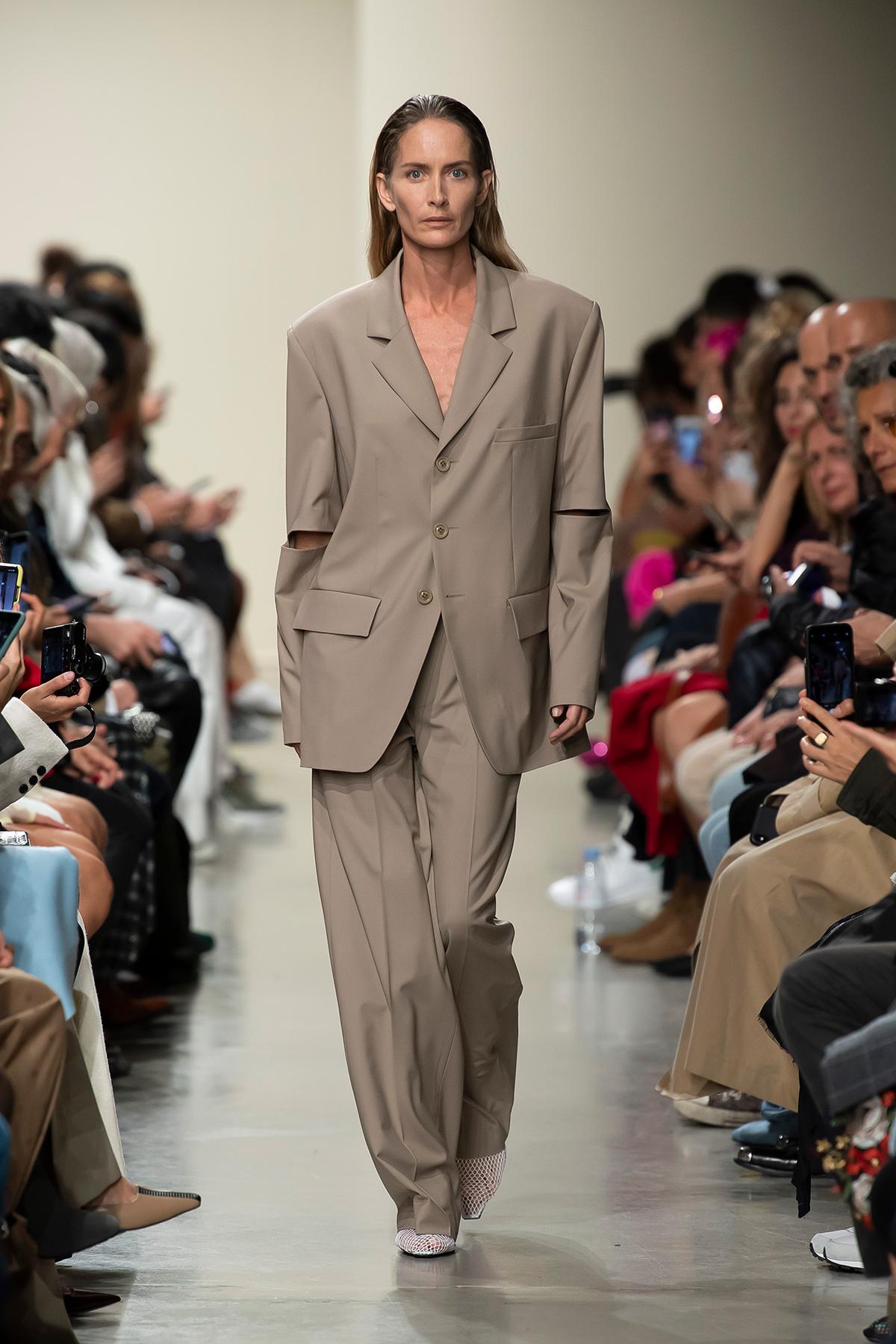 LOOK 1 Blazer PRIYA Trousers PRISCO