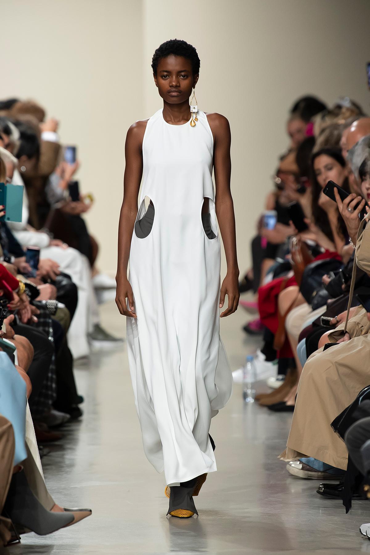 LOOK 24 Dress PLUME Trousers PALOMA