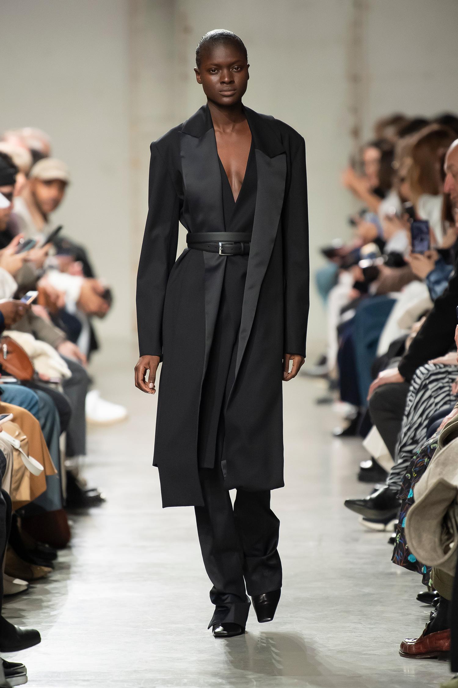 LOOK 30 Coat ROWEN Trousers ROBYN