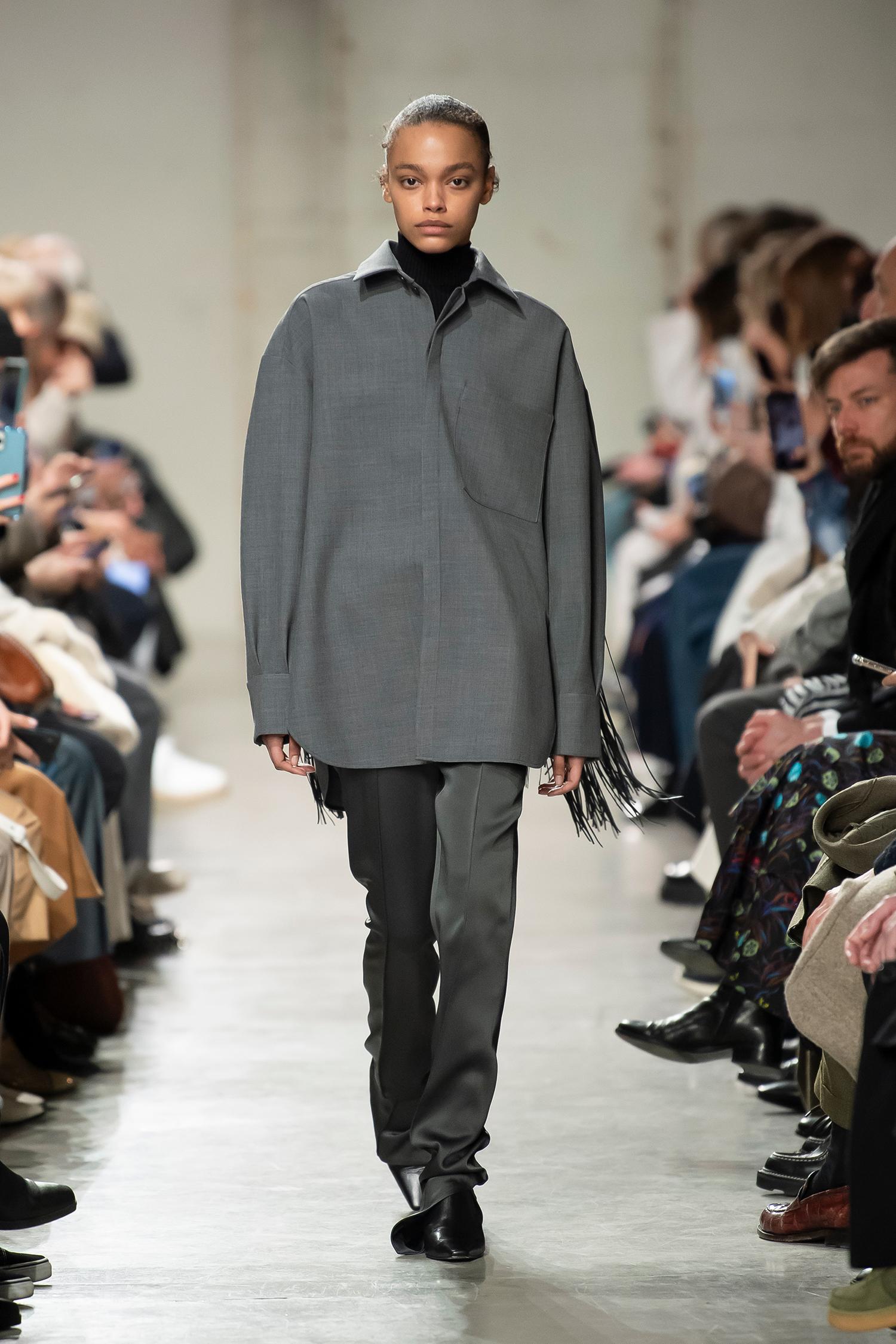 LOOK 38 Shirt RAJA Knitwear ROLLY Trousers RAZ