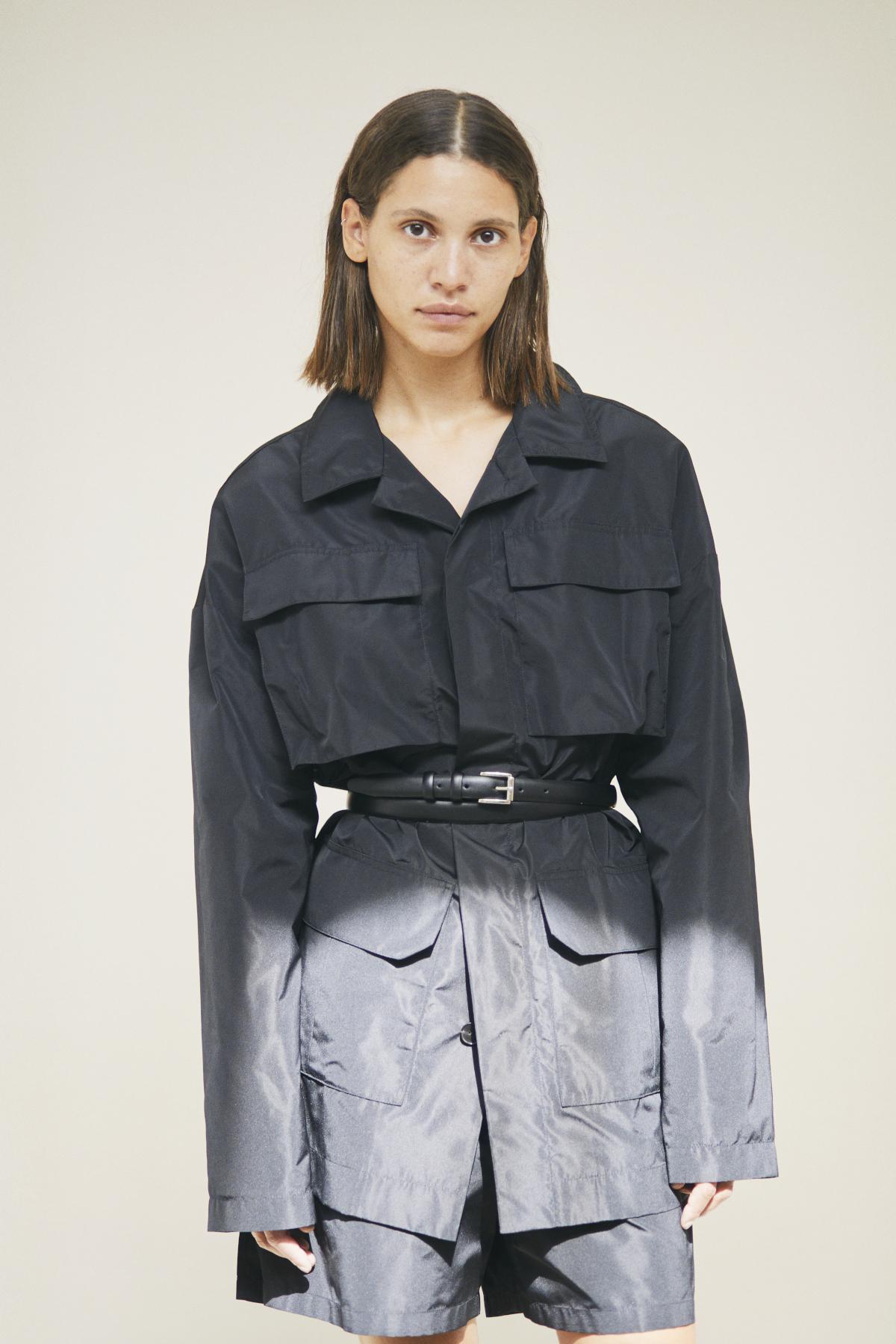 Jacket SERINE, Short-pants STACIE, Belt SECILE
