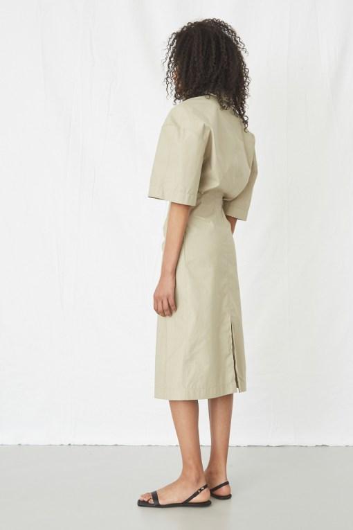 DRESS SAFINA COVERT KAKI