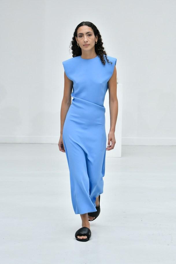 DRESS SUZANNA PROVENCE BLUE