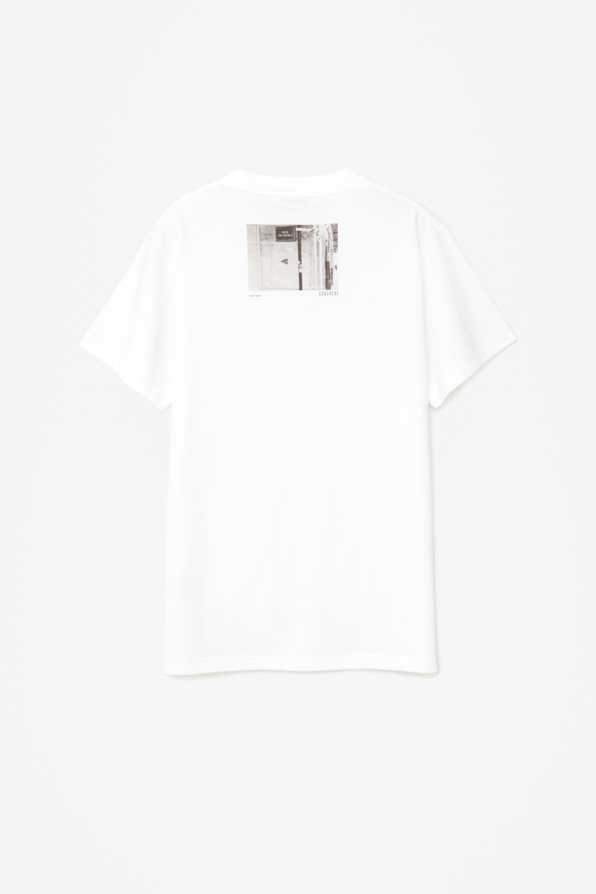 T-SHIRT SUZANNE WHITE WITH PRINT