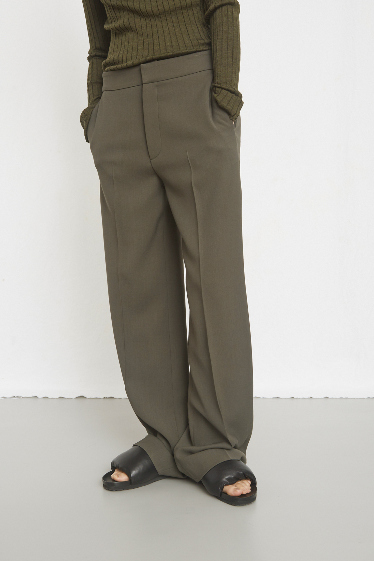 TROUSERS TILLA OLIVE