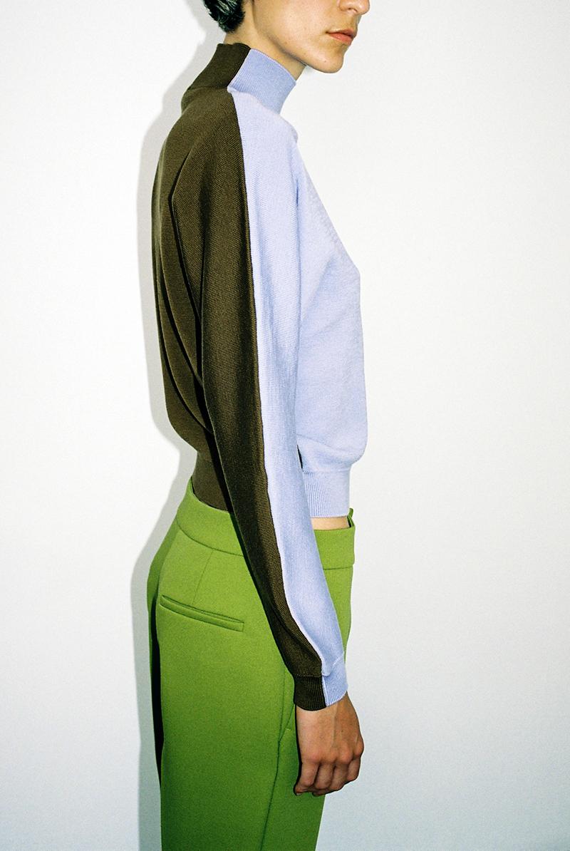 Knit top VALORIS, Trousers VINCE