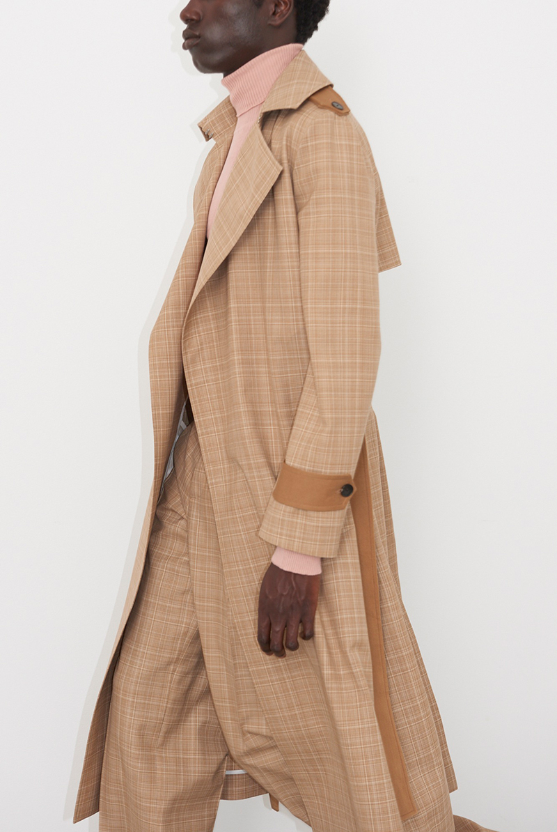 Coat VIRIATO, Knit top VANA, Trousers VIET