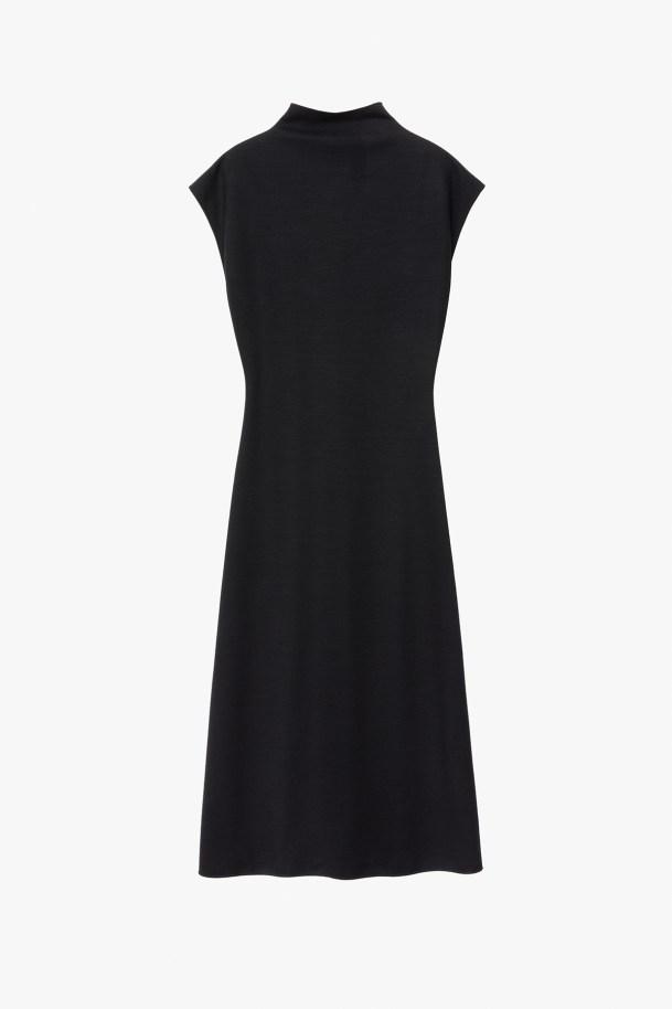DRESS TISSINA BLACK